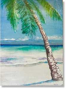 Palm Tree Antigua Island Paradise