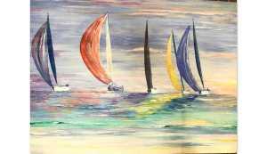 Sailing in Antigua